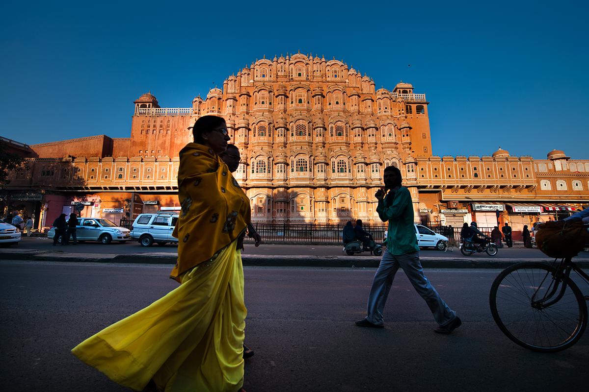 India del Nord - Hawa Mahal Palazzo dei Venti Jaipur