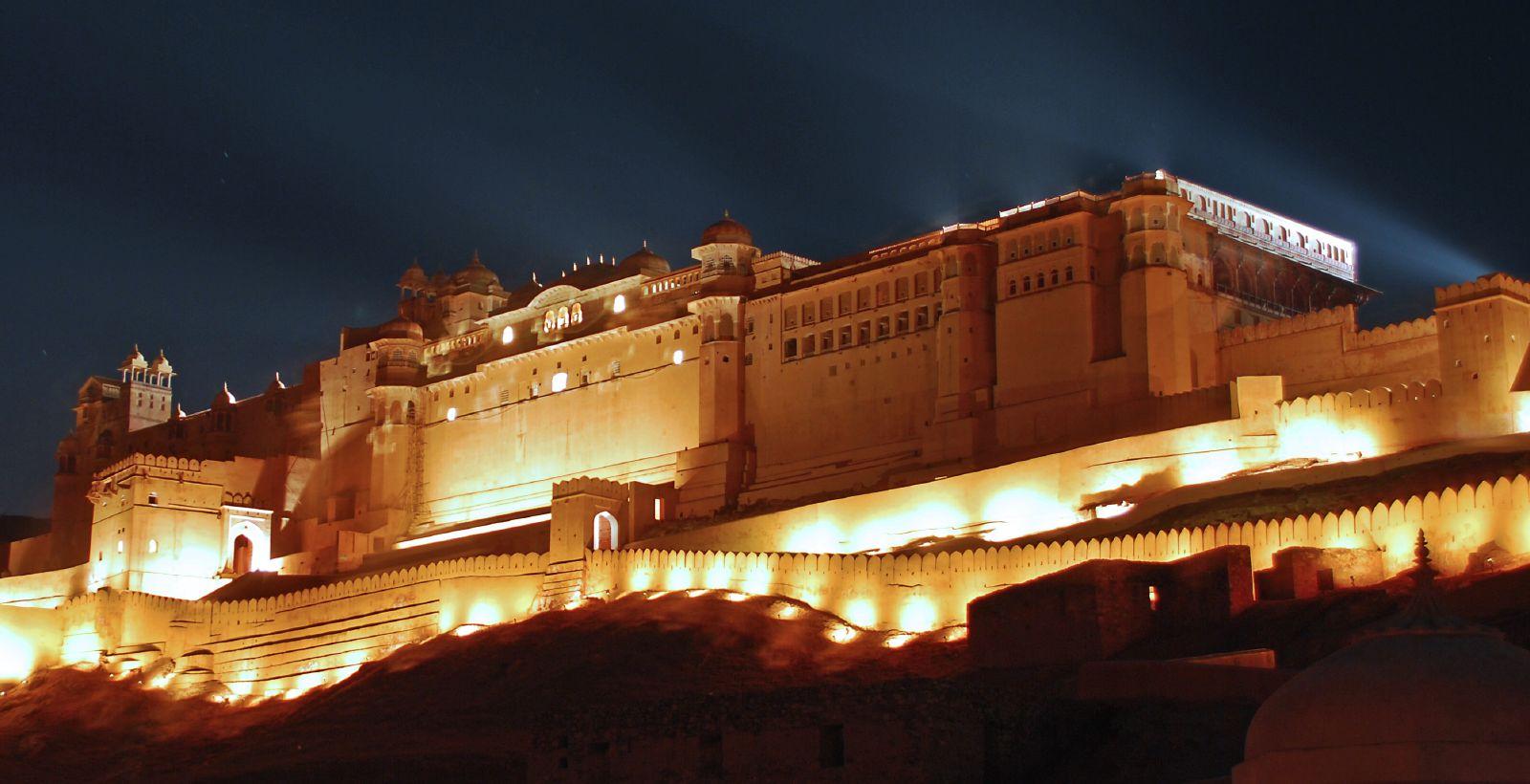 India del Nord - Forte e Palazzo Amber