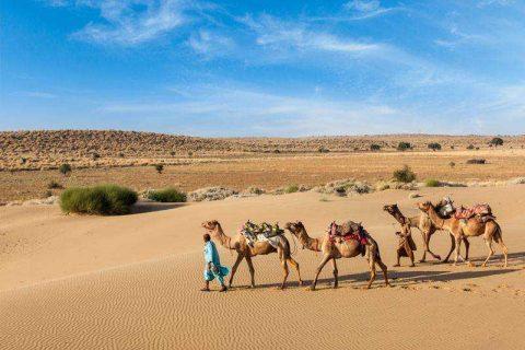 città del deserto di jaisalmer