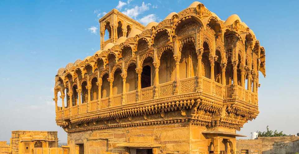 palazzi e forti nel rajasthan