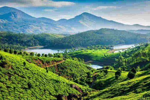 stazione di collina nel nord dell india