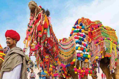 festival del deserto di jaisalmer