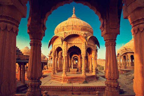 palazzo della luna di miele in india