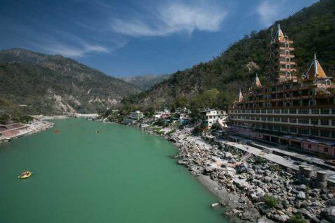 destinazioni per il rafting sul fiume in india
